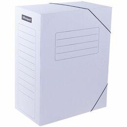 Упаковочные материалы - Короб архивный на резинках OfficeSpace,…, 0