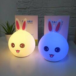 Ночники и декоративные светильники - Ночник детский зайка (новый), 0