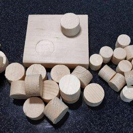 Пиломатериалы - Пробки деревянные, чёпики, заглушки (чопики), 0
