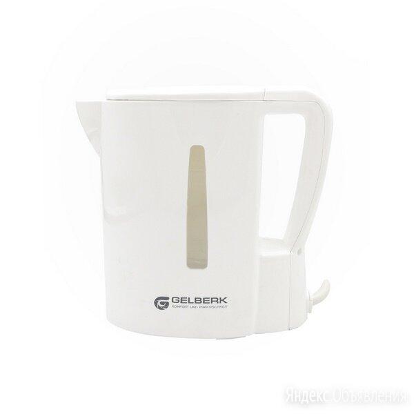 Чайник электрический Gelberk GL-464 белый 0,5л по цене 380₽ - Электрочайники и термопоты, фото 0