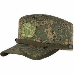 Головные уборы - Кепка (фуражка) (ВКПО) военная цифра зеленая новая, 0