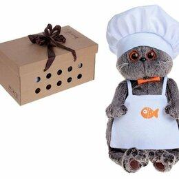 Мягкие игрушки - Мягкая игрушка «Басик шеф-повар», 19 см, 0