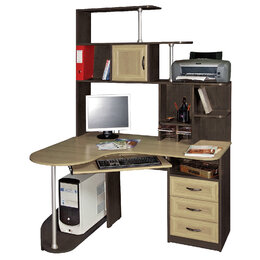 Компьютерные и письменные столы - Стол компьютерный Варяг-3, 0
