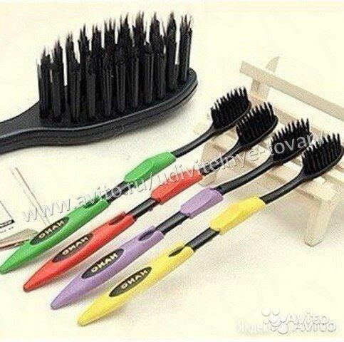 Бамбуковые зубные щетки по цене 150₽ - Зубные щетки, фото 0