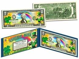 Банкноты - 2 доллара США Лепрекон Банкнота на удачу, 0