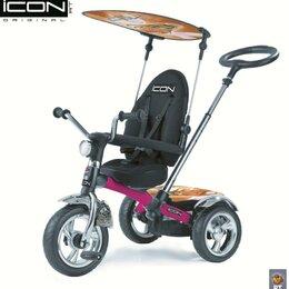 Обода и велосипедные колёса в сборе - ICON3 RT original, колеса EVA + большое сиденье, цвет fuksia angel, 0
