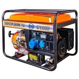 Электрогенераторы и станции - Генератор бензиновый/газовый Magnus БГ6500У, 0