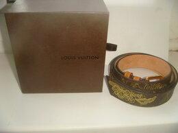 Ремни и пояса - Ремень Louis Vuitton dentelle шоу коллекция 2007…, 0