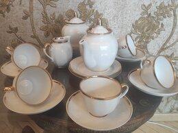"""Сервизы и наборы - Чайный сервиз """"золотая лента"""" дулево, 0"""