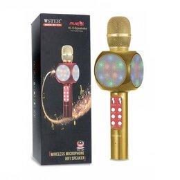 Микрофоны - Караоке микрофон светящийся, 0