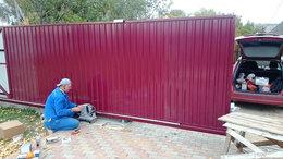 Заборы и ворота - ворота откатные  комплекты для ворот. -моторы , 0