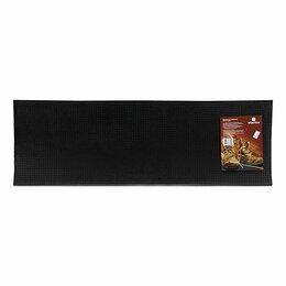 Коврики - Коврик на ступеньку Vortex 25х75 см черный 20078, 0