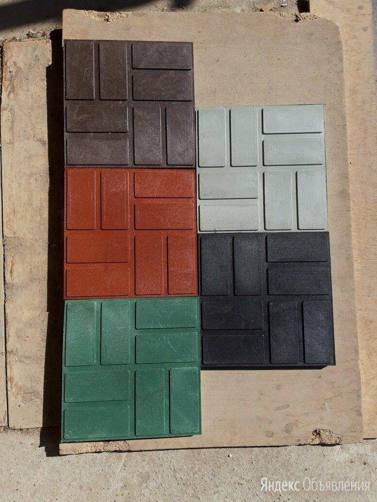 Плитка полимерпесчаная 250х250 и 330х330 и450х450 по цене 40₽ - Садовые дорожки и покрытия, фото 0