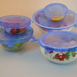 Крышки и колпаки - Силиконовые крышки для посуды, 0