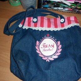 Сумки - Новая сумка из джинса, 0