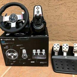 Рули, джойстики, геймпады - Logitech g27 Racing Wheel (Новый руль, в коробке), 0