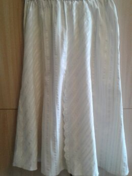 Юбки - Нарядная белая юбка., 0