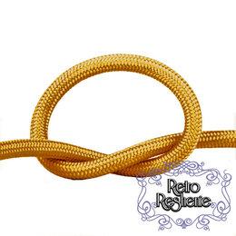 Кабели и провода - Провод круглый в оплетке песочное золото, 0