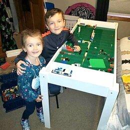 Столы и столики - Стол для игры в лего lego, 0