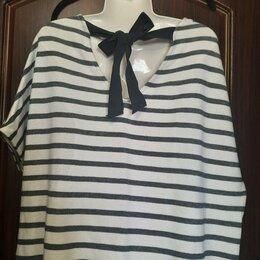 Блузки и кофточки - Блуза Бангладеш L/XL. Бант сзади, 0