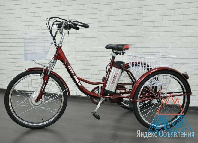 Электровелосипед  по цене 47500₽ - Мототехника и электровелосипеды, фото 0