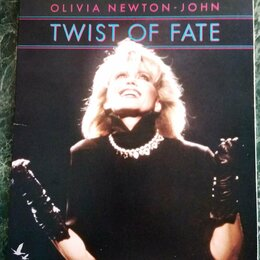 Видеофильмы - VHD диск – Olivia Newton-John – Twist Of Fate – 1983  – Victor – Japan - EX , 0