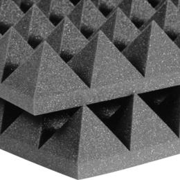 Мебель для учреждений - Echoton Piramida 50 Акустический поролон (1950*950*70мм) тёмно-серый, 0
