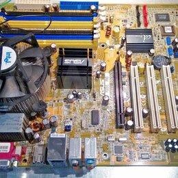 Материнские платы - Материнка Asus P5GDC-V Deluxe DDR2 + DDR1, LGA775, 0