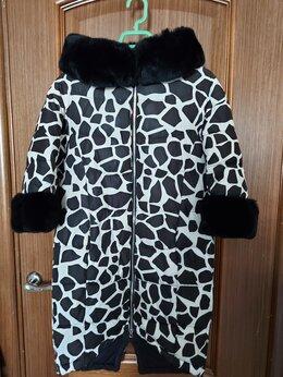Пуховики - Пуховик с капюшоном/куртка женский р44, 0