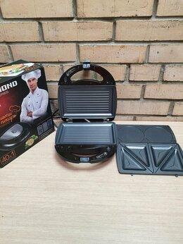 Сэндвичницы и приборы для выпечки - Мультипекарь Redmond RMB-PM601, 0
