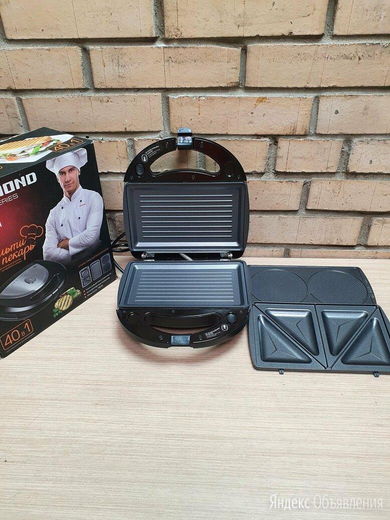 Мультипекарь Redmond RMB-PM601 по цене 2490₽ - Сэндвичницы и приборы для выпечки, фото 0