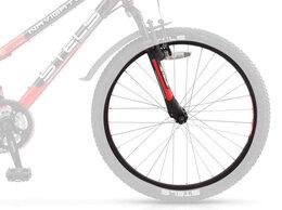 """Обода и велосипедные колёса в сборе - Колесо переднее STELS Navigator 400 24"""", 0"""