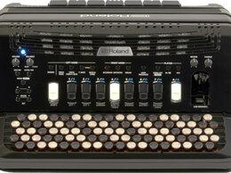 Клавишные инструменты - Цифровой баян Roland FR 4XB RED/BK, 0