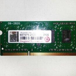 Модули памяти - RAM SO-DIMM Transcend DDR3 1024/8500/1066, 0