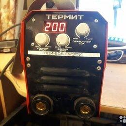 Сварочные аппараты - Продам сварочный инвертер  Термит ВДИ-205 профи, 0