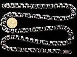 Цепи - Серебряная цепь бисмарк.Вес 40,3 грамма,длина 60…, 0