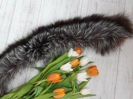 Шарфы и платки - Меховой воротник,  чернобурка, 0