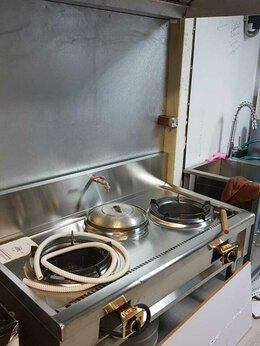 Промышленные плиты - Газовая вок плита, 0