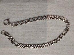 Браслеты - серебряный браслет длина 17,8 Сант,вес5,04, 0