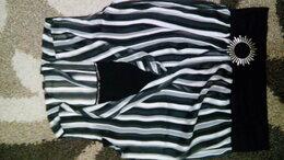 Блузки и кофточки - Блузка трикотажная в полоску  Добавить в избранное, 0