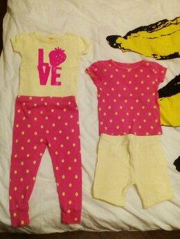 Домашняя одежда - Пижама Carters р. 18 мес. Клубничка 4 предмета, 0
