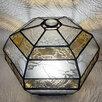 Сферический шестигранный ночник из витражного стекла. по цене 11000₽ - Ночники и декоративные светильники, фото 5