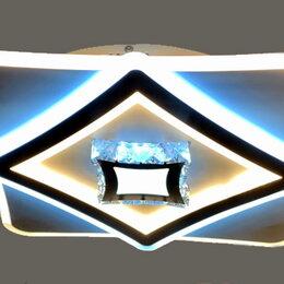 Люстры и потолочные светильники - Светильник LED потолочный 19389/500 110 W с ПДУ, 0