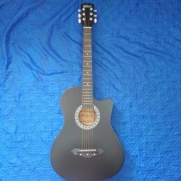 Акустические и классические гитары - Гитара матовая акустическая, 0