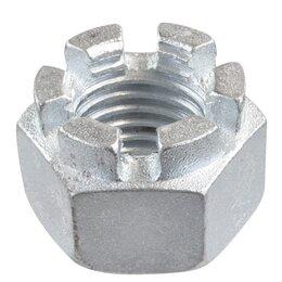 Шайбы и гайки - Гайка оцинкованная корончатая DIN 935 М8/М16, 0