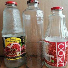 Ёмкости для хранения - Бутылка стеклянная 1 литр, 0