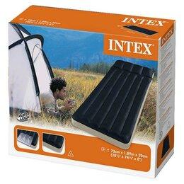 Надувная мебель - Надувной матрас INTEX  72*189*20, 0
