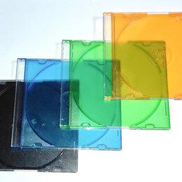 Сумки и боксы для дисков - Коробки для дисков CD DVD slim , 0