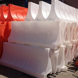 Регулировка движения - Дорожные водоналивные блоки 2000*750*500мм, 0