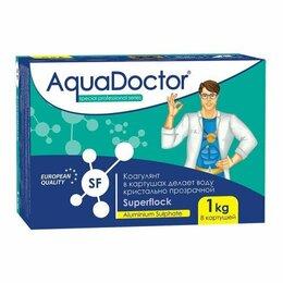 Химические средства - Суперфлок (Superflock), коагулянт, 1кг, 8 картриджей, Aquadoctor, 0